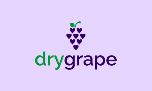 Drygrape - Drinks business name for sale