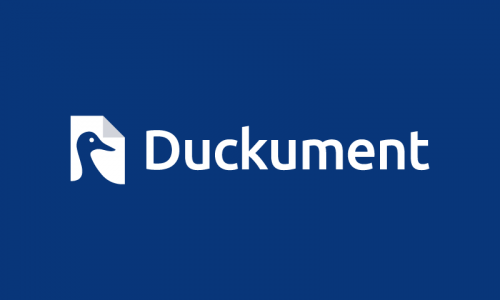 Duckument - Friendly brand name for sale