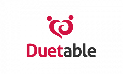 Duetable - Social domain name for sale