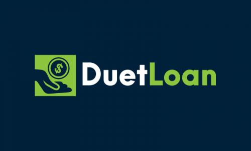 Duetloan - Loans brand name for sale