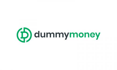 Dummymoney - Finance brand name for sale