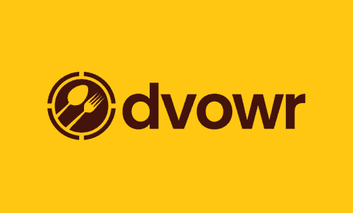 Dvowr - Food and drink company name for sale
