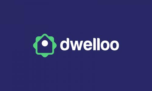 Dwelloo - Smart home business name for sale