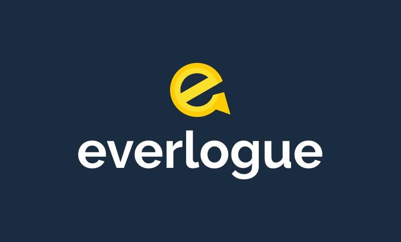 Everlogue - Contemporary brand name for sale