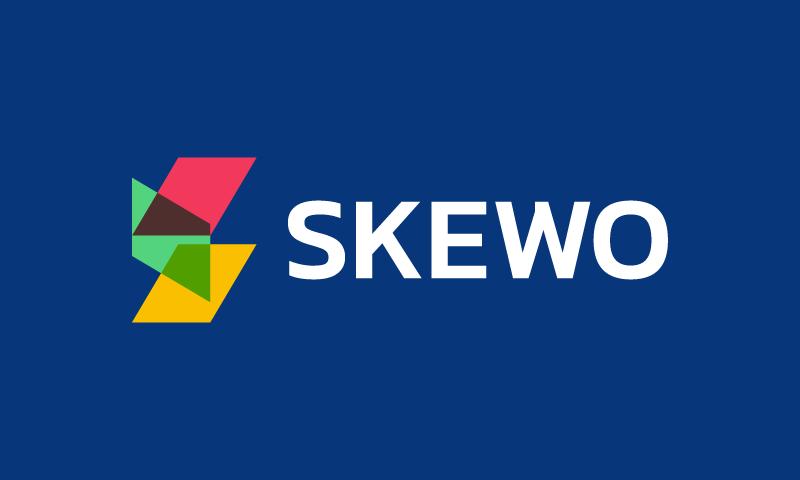 Skewo - Movie startup name for sale