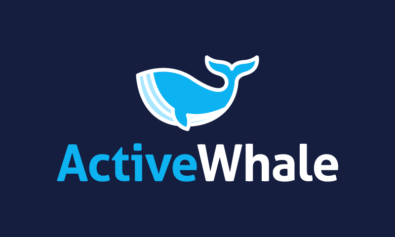 Activewhale - Modern company name for sale