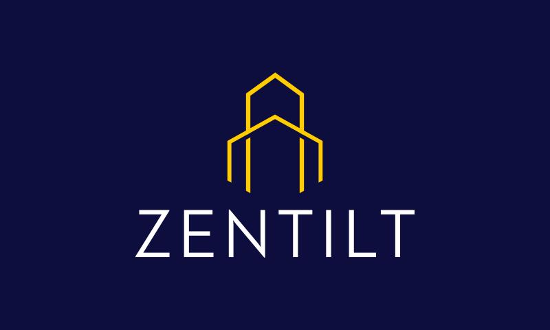 Zentilt - Technology domain name for sale