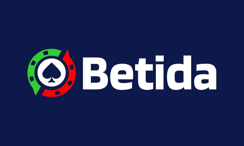 Betida - Gambling business name for sale