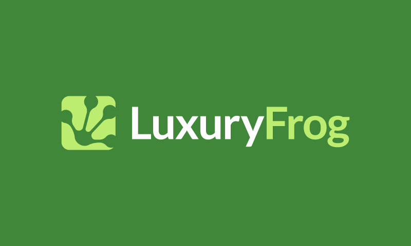 Luxuryfrog - Possible domain name for sale
