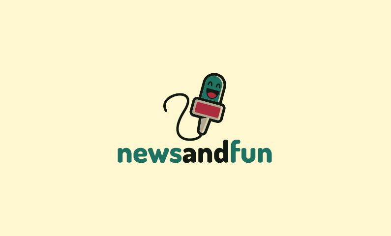 Newsandfun - News brand name for sale