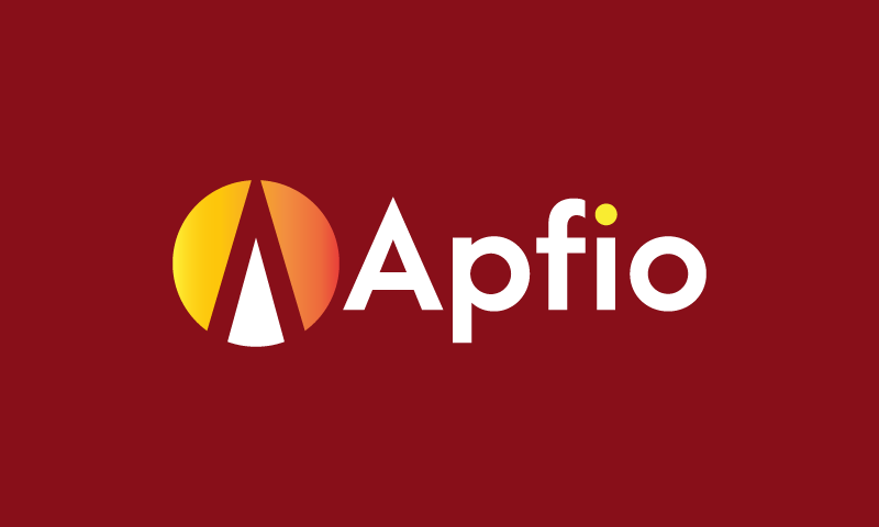 Apfio - Media domain name for sale