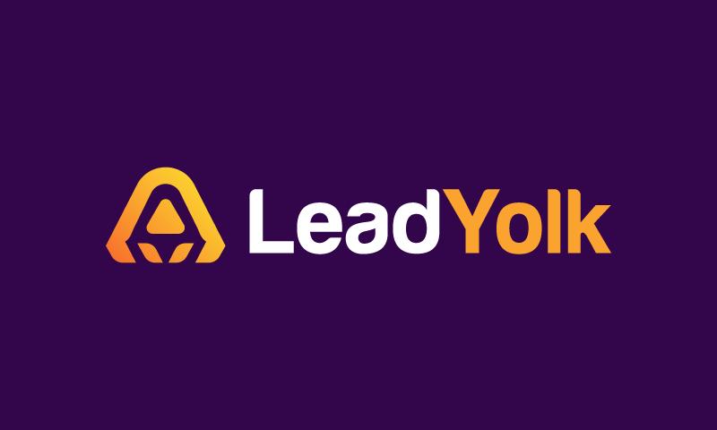 Leadyolk - Technology company name for sale