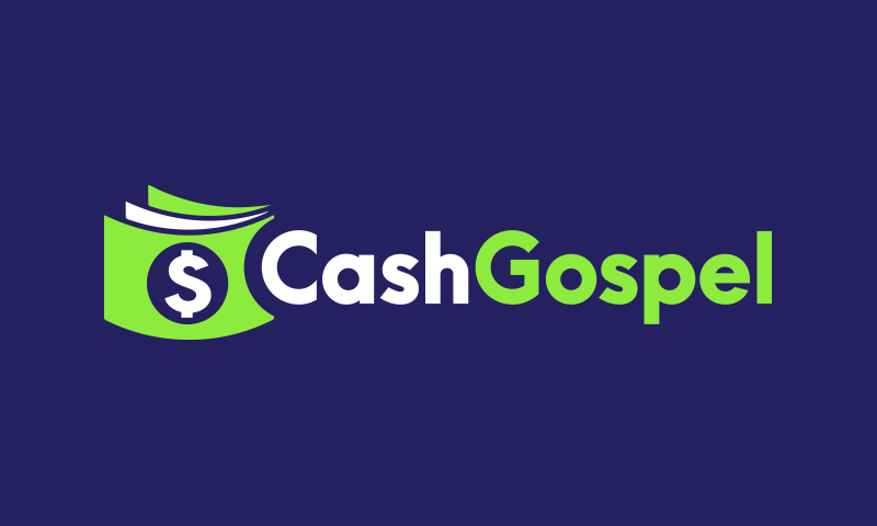 Cashgospel - Finance business name for sale