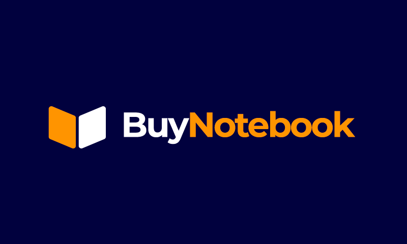 Buynotebook - E-commerce startup name for sale