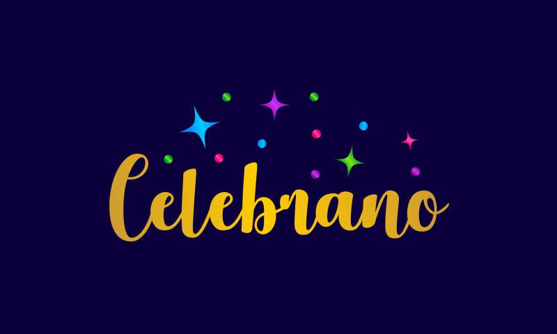 Celebrano - E-commerce business name for sale