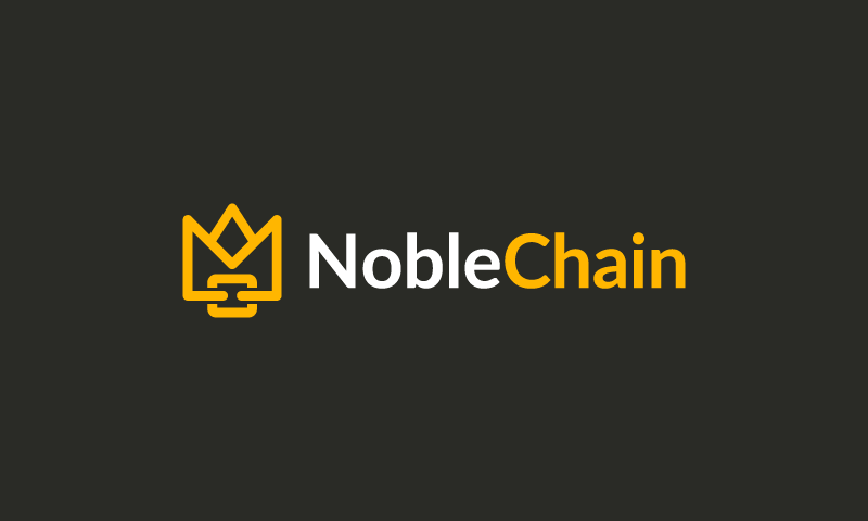 Noblechain - Cryptocurrency domain name for sale
