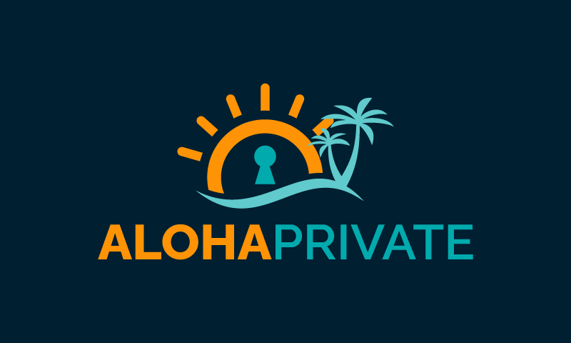 Alohaprivate - Travel domain name for sale
