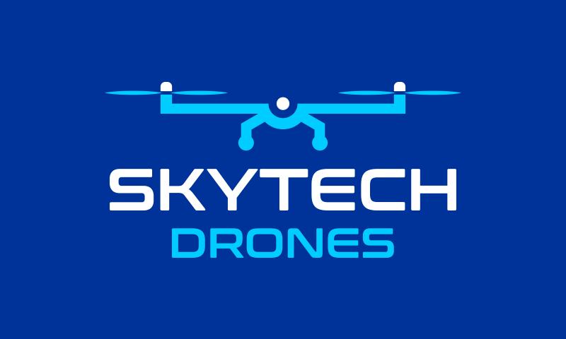 skytechdrones.com