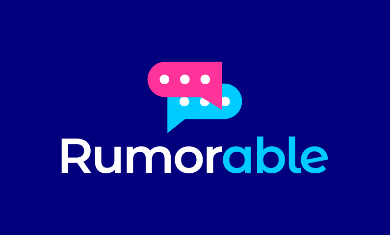 Rumorable - Social startup name for sale