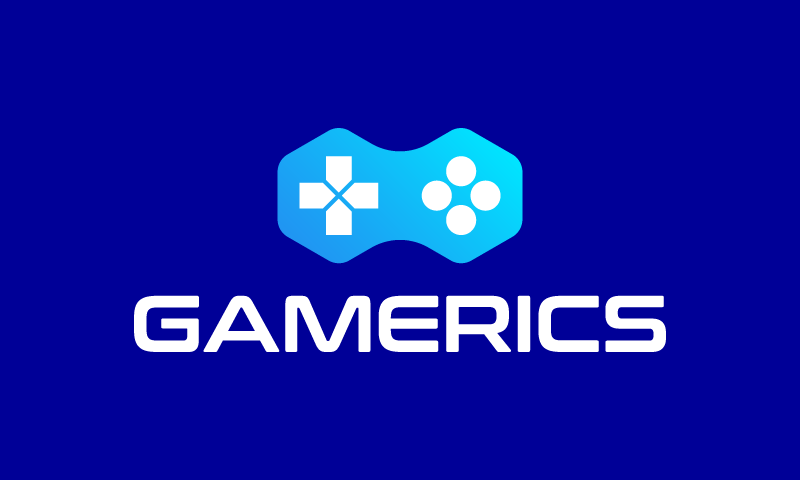 Gamerics - Video games business name for sale