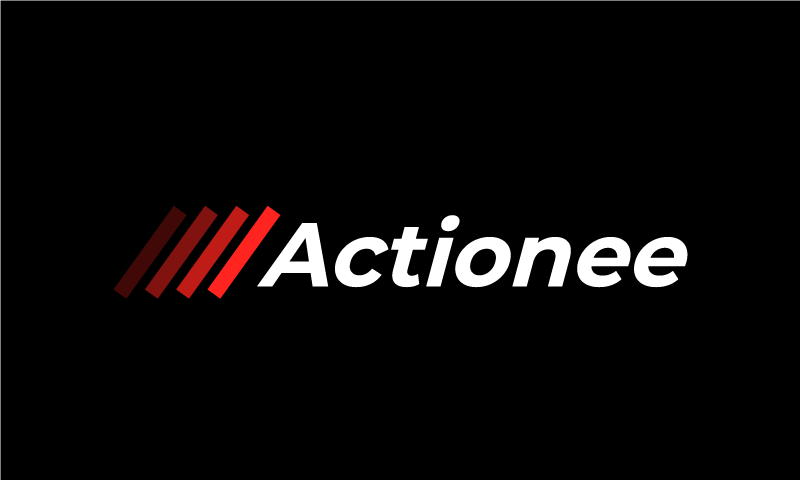 Actionee - Modern business name for sale