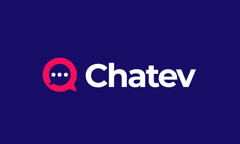 Chatev - Chat startup name for sale