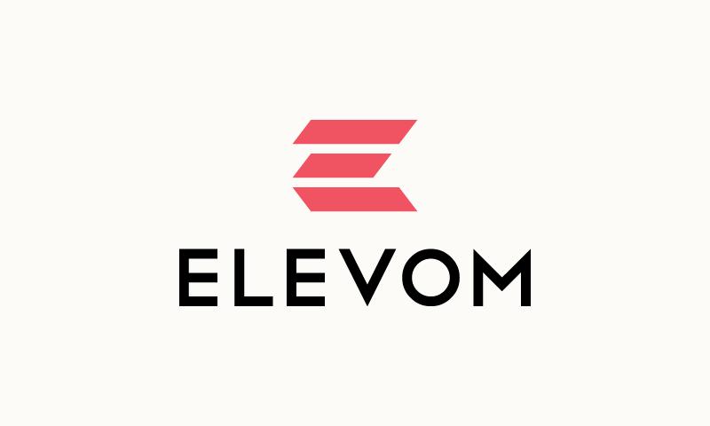 Elevom - E-commerce startup name for sale