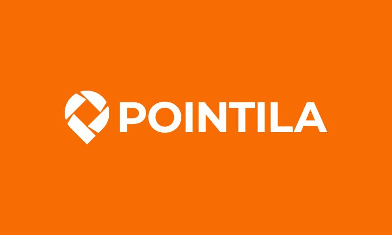 Pointila - Retail startup name for sale