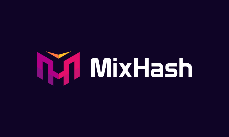 Mixhash - Cryptocurrency company name for sale