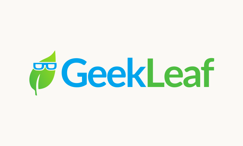 Geekleaf - Retail company name for sale