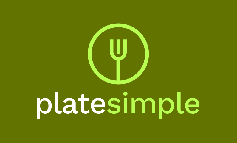 Platesimple - Food and drink startup name for sale