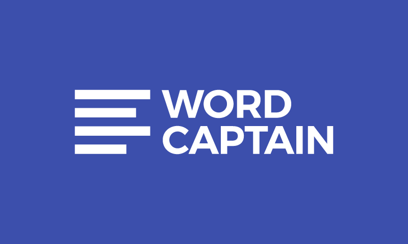 Wordcaptain - Potential brand name for sale