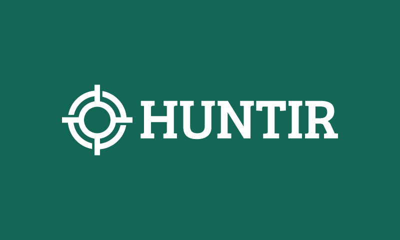 Huntir - Contemporary brand name for sale