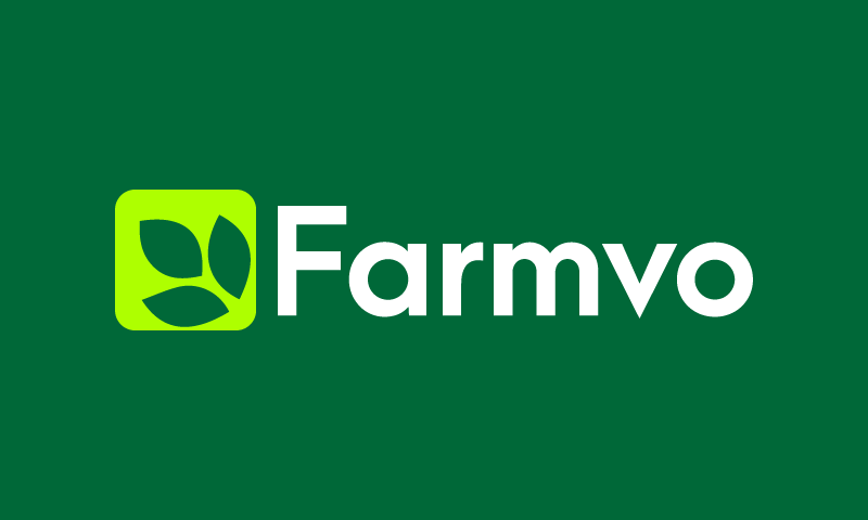Farmvo - Agriculture startup name for sale