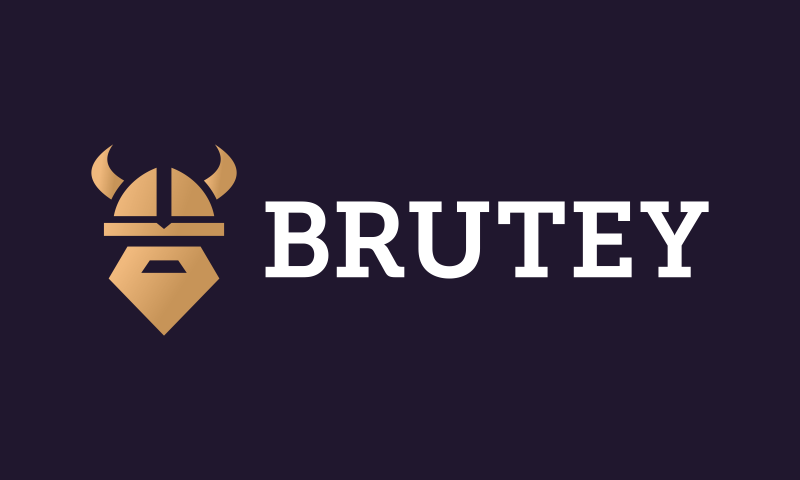 Brutey - Retail startup name for sale
