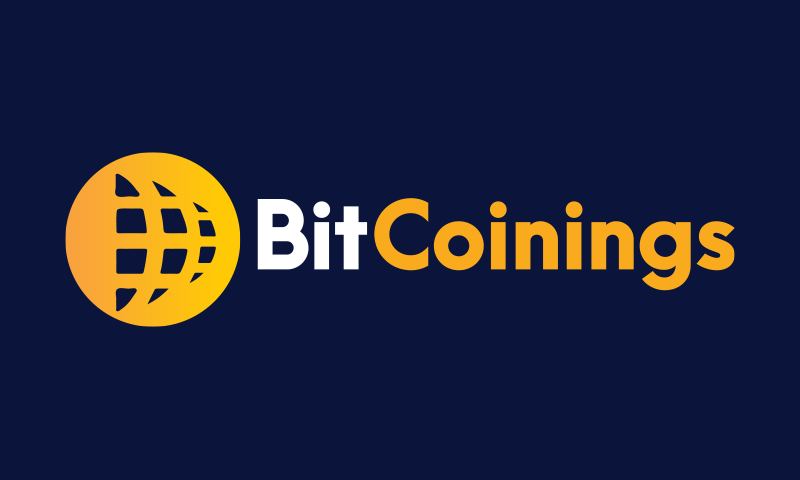 Bitcoinings - Cryptocurrency startup name for sale