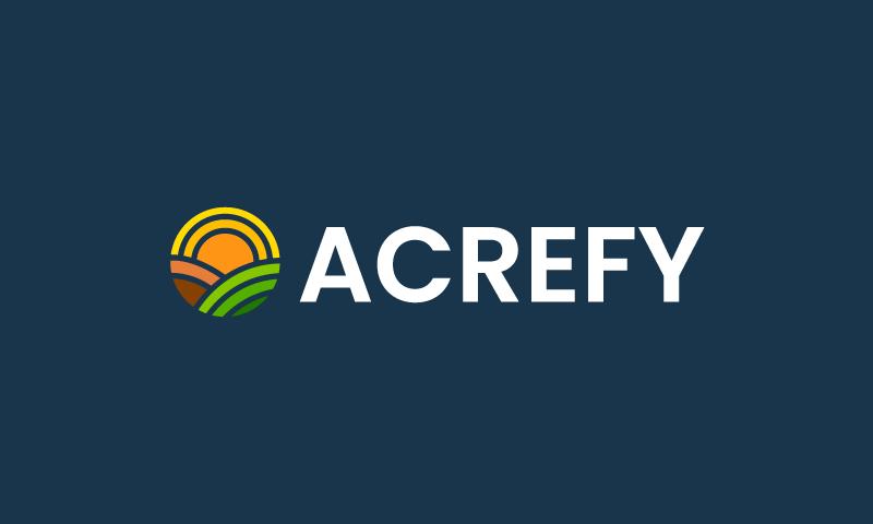 Acrefy - Retail brand name for sale