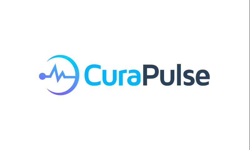 CuraPulse logo