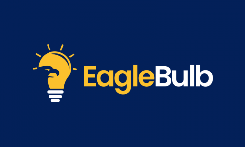 Eaglebulb - Technology startup name for sale