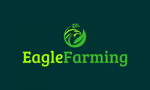Eaglefarming - Agriculture company name for sale