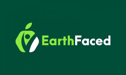 Earthfaced - Education company name for sale