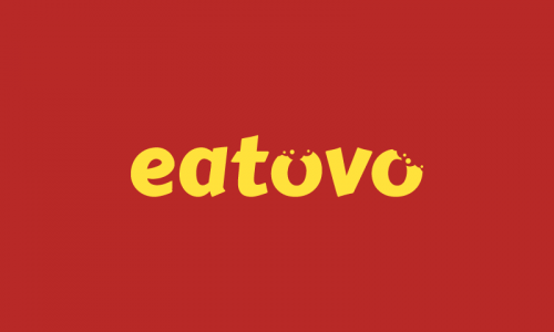 Eatovo - Social startup name for sale