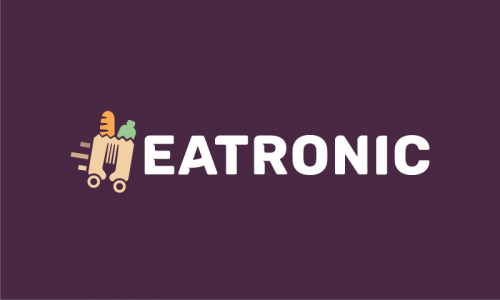 Eatronic - Delivery brand name for sale