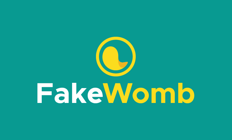 Fakewomb - Technology startup name for sale