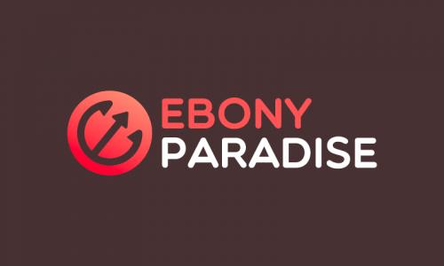Ebonyparadise - E-commerce brand name for sale