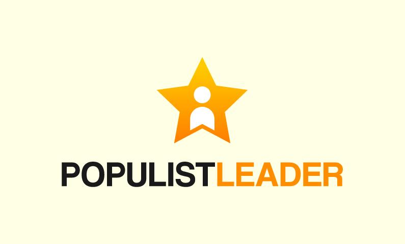 Populistleader - Media domain name for sale