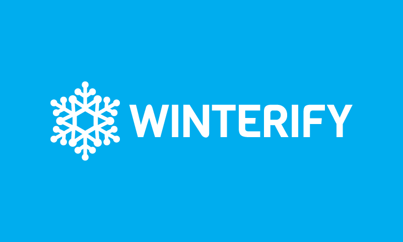 Winterify - Retail startup name for sale