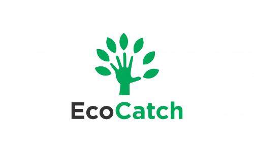 Ecocatch - Environmentally-friendly domain name for sale