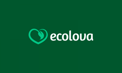 Ecolova - Environmentally-friendly product name for sale