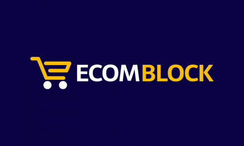 Ecomblock - Events brand name for sale